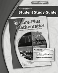 Core-Plus Mathematics: Contemporary Mathematics In Context, Course 1, Student Study Guide