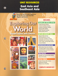 Exploring Our World, Unit Resources: East Asia and Southeast Asia