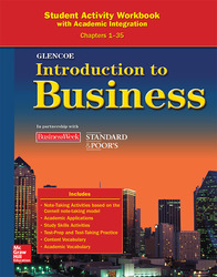 Introduction To Business, Chapters 1-35, Student Activity Workbook