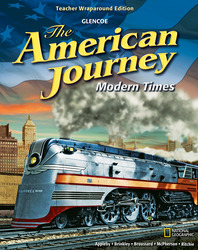 The American Journey, Modern Times, Teacher Wraparound Edition