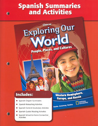 Exploring Our World: Western Hemisphere, Europe, and Russia, Spanish Activities