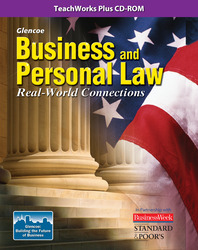 Business and Personal Law, Real World Connection, TeacherWorks Plus CD-ROM