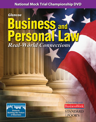 Business and Personal Law: Real World Connections, National Mock Trial Championship DVD