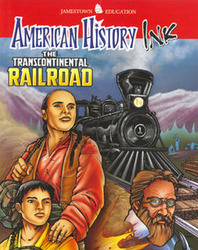 American History Ink The Transcontinental Railroad