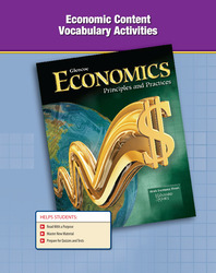 Economics: Principles and Practices,  Economic Content Vocabulary Activities