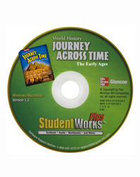 Journey Across Time, Early Ages, StudentWorks Plus DVD