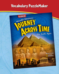 Journey Across Time, Early Ages, Vocabulary PuzzleMaker