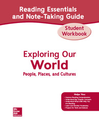 Exploring Our World, Western Hemisphere with Europe & Russia, Reading Essentials and Note-Taking Guide Workbook