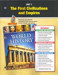 Glencoe World History, Unit Resources 1