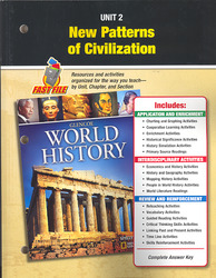Glencoe World History, Unit Resources 2