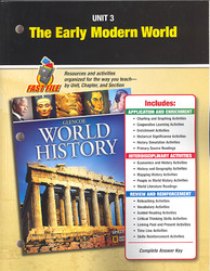 Glencoe World History, Unit Resources 3