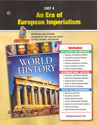 Glencoe World History, Unit Resources 4