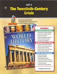 Glencoe World History, Unit Resources 5