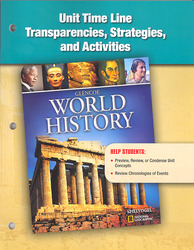 Glencoe World History, Time Line Transparencies, Strategies, and Activities