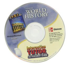 Glencoe World History, Interactive Tutor: Self-Assessment CD-ROM