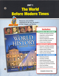 Glencoe World History: Modern Times, Unit Resources 1