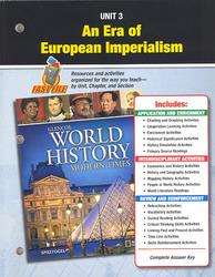 Glencoe World History: Modern Times, Unit Resources 3