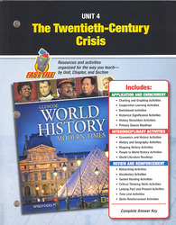 Glencoe World History: Modern Times, Unit Resources 4