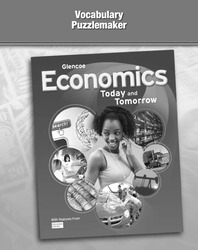Economics: Today and Tomorrow, Vocabulary Puzzlemaker