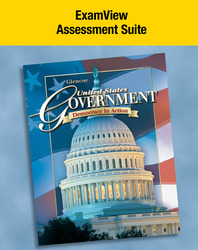 United States Government: Democracy in Action, ExamView Assessment Suite CD-ROM