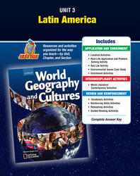 World Geography and Cultures, Unit Resources 3