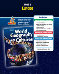 World Geography and Cultures, Unit Resources 4