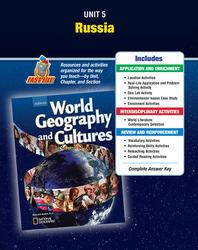 World Geography and Cultures, Unit Resources 5