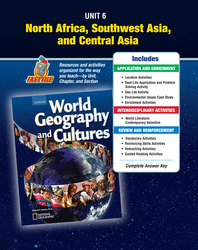 World Geography and Cultures, Unit Resources 6