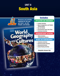 World Geography and Cultures, Unit Resources 8
