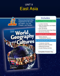 World Geography and Cultures, Unit Resources 9