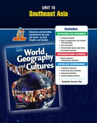 World Geography and Cultures, Unit Resources 10