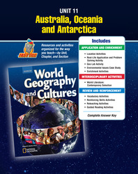 World Geography and Cultures, Unit Resources 11