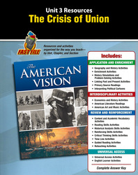 The American Vision, Unit Resource 3