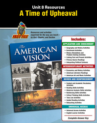 The American Vision, Unit Resource 8