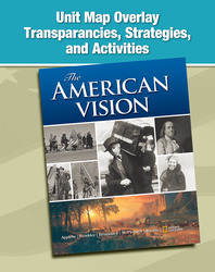 The American Vision, Map Transparencies, Strategies, and Activities