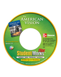 The American Vision, StudentWorks Plus DVD
