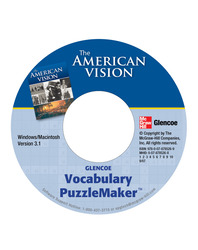 The American Vision, Vocabulary Puzzlemaker