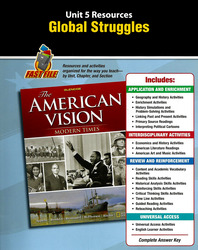 The American Vision: Modern Times, Unit Resources 5