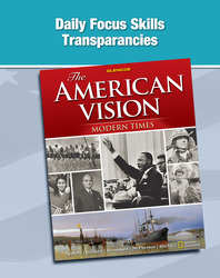 The American Vision: Modern Times, Daily Focus Transparencies, Strategies, and Activities