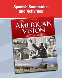 The American Vision: Modern Times, Spanish Summaries and Activities