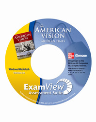 The American Vision: Modern Times, ExamView Assessment Suite