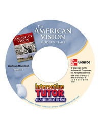 The American Vision: Modern Times, Interactive Tutor Self-Assessment CD-ROM