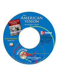 The American Vision: Modern Times, Presentation Plus! with MindJogger Checkpoint DVD