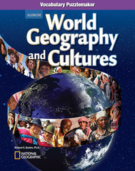 World Geography and Cultures, Vocabulary Puzzlemaker