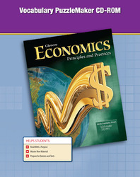 Economics: Principles and Practices, Vocabulary PuzzleMaker, CD-ROM