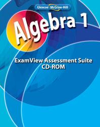 Algebra 1, ExamView Assessment Suite CD-ROM