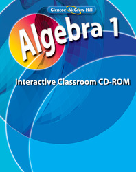 Algebra 1, Interactive Classroom CD-ROM
