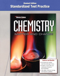 Chemistry: Matter & Change, Standardized Test Practice Workbook, Student Edition
