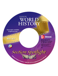 Glencoe World History, Glencoe World History Spotlight Video Program DVD
