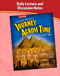 Journey Across Time, Early Ages, Daily Lecture and Discussion Notes